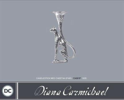 Diana Carmichael Candlestick Medium Cheetah