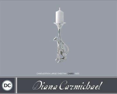 Diana Carmichael Candlestick Large Cheetah