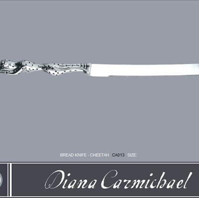 Diana Carmichael Cheetah Bread Knife