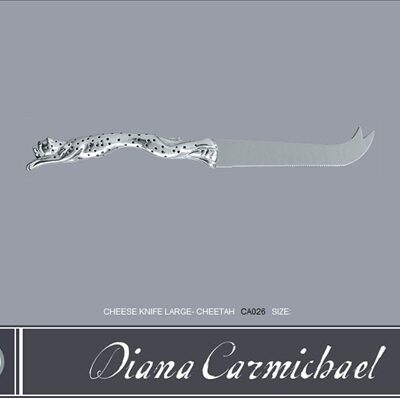 Diana Carmichael Cheese Knife Cheetah