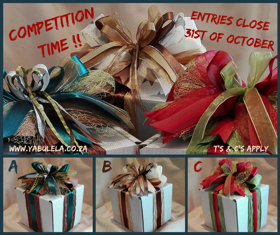 COMPETITION TIME - FESTIVE SEASON 2017