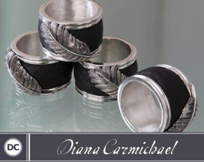 Diana Carmichael - Napkin Rings Usiba 4