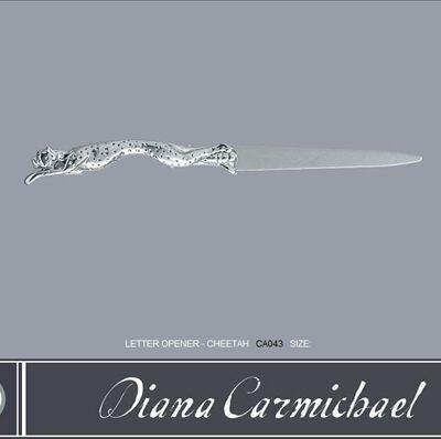 Diana Carmichael Letter Opener Cheetah