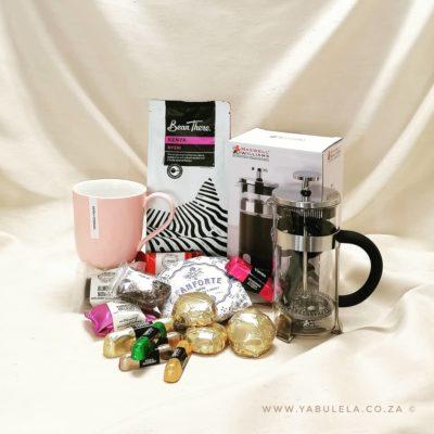 Hamper Coffee Break Speckle Pink