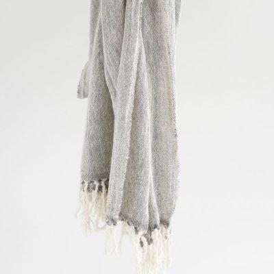 Gift Hamper Cotton Scarf-Shawl Charcoal