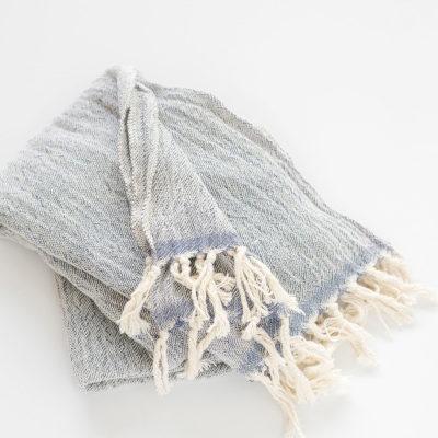 Gift Hamper Cotton Scarf Indigo