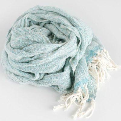 Gift Hamper Cotton Scarf Teal