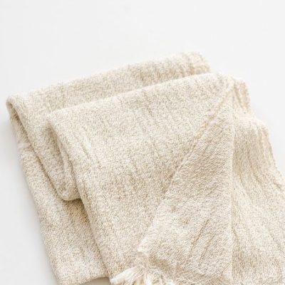 Gift Hamper Cotton Scarf Stone